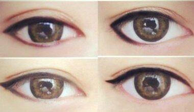 Guide to Eye Shadow Based on Eye Shape